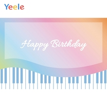 Yeele Birthday Backdrop Photocall Colorful Piano Photography Personalized Photographic Backgrounds For Photo Studio
