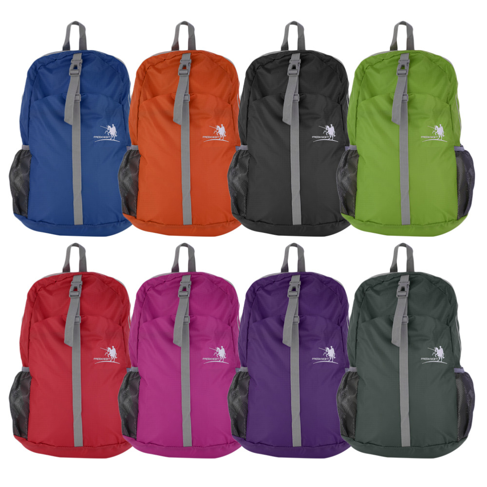 Outdoor Sports Hiking Waterproof Foldable Nylon Backpack Daypack Rucksack 30L free shipping