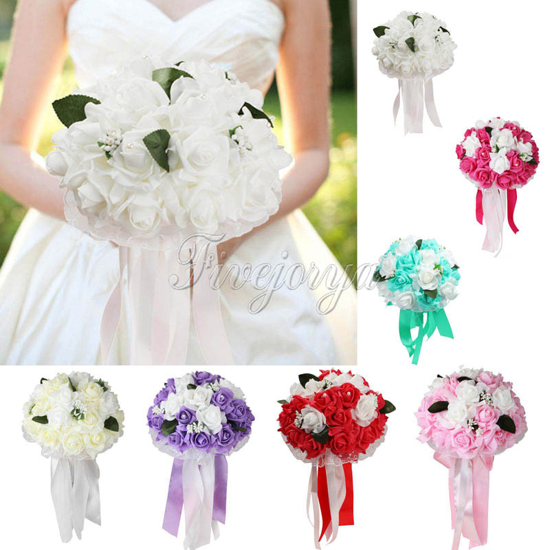 popular natural wedding bouquets buy cheap natural wedding bouquets lots from china natural. Black Bedroom Furniture Sets. Home Design Ideas