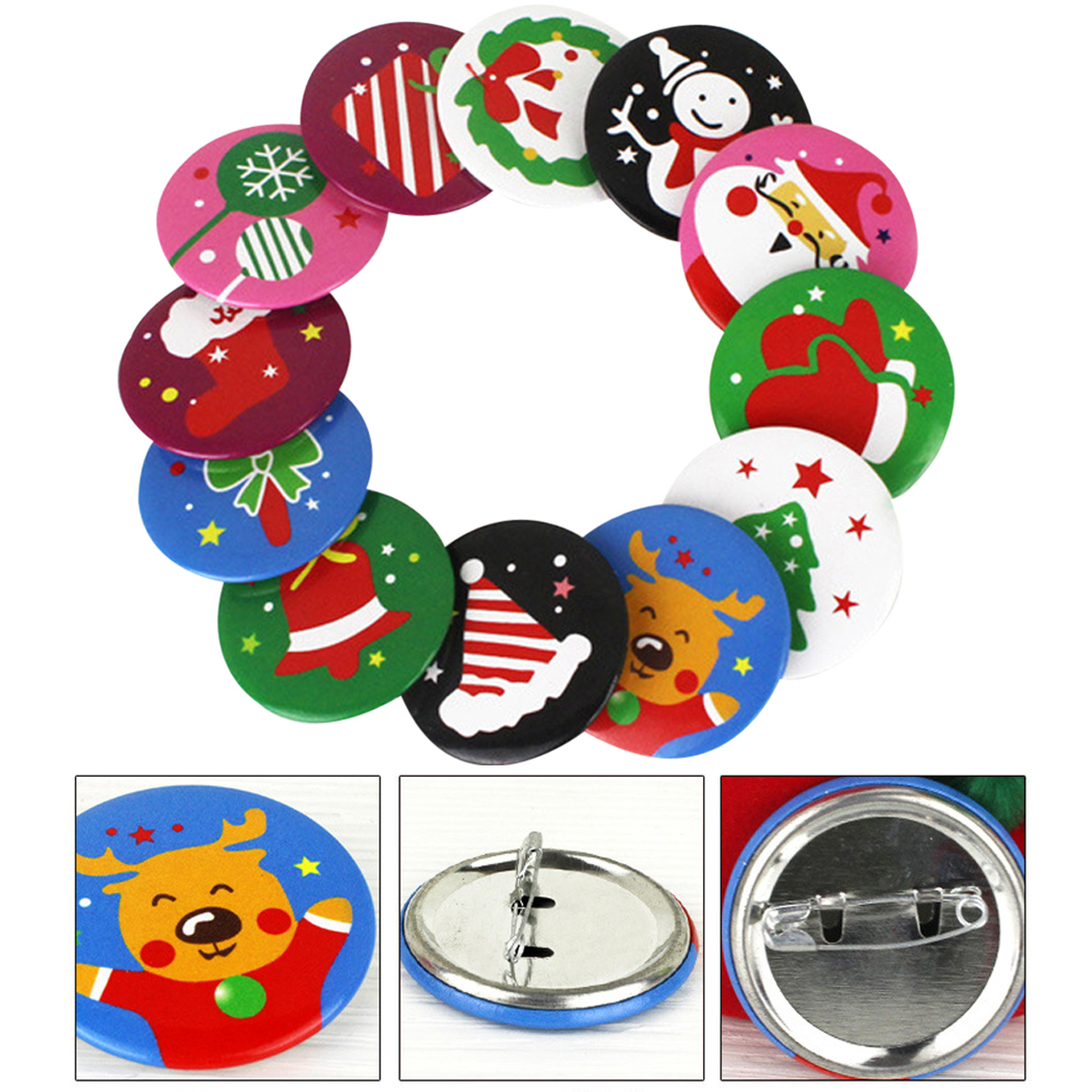 10pcs New Enamel Snowman Brooches Christmas Brooch Pin Fashion Cute Winter Coat Accessories Women Kids Good Gift Broches