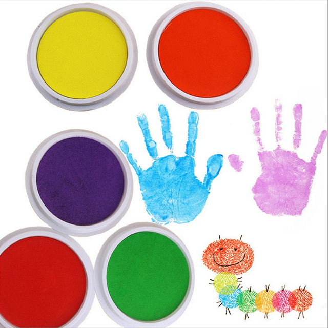 Finger painting Drawing Toys children educational toy finger painting tool kit birthday gifts mud painting different colors