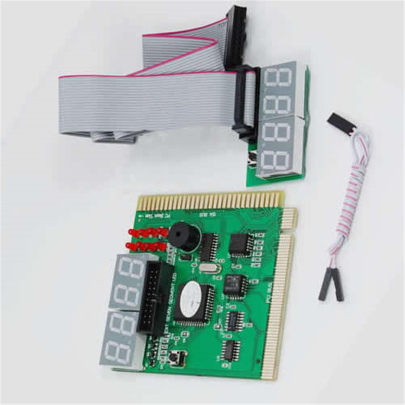 9cm*8.2cm Computer Analysis PCI POST Card LCD Display Motherboard LED 4 Digit Diagnostic Test PC Analyzer For PC Laptop Desktop ouhaobin 5v 2 1a 2 usb 7x 18650 diy power station case kit diy 18650 battery charger box cases feb20