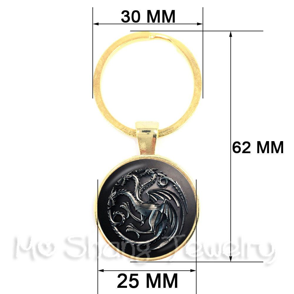 The Queen is Here Crown Royalty Black Leather Keychain