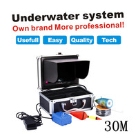 30M Cable HD SONY CCD 600 TVL 7 TFT Color LCD Underwater Camera Fishing CCTV Camera
