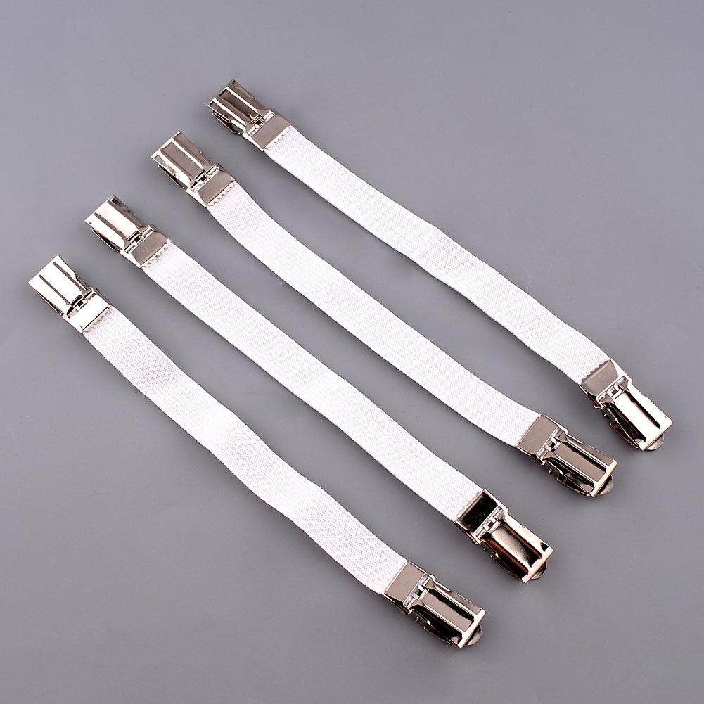 4X держатель ткани застежка на диван крепеж Скоба для простыни на кровать папка с захватами