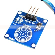 Digital Sensor TTP223B Module Capacitive Touch Switch for Arduino blue