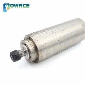 Image 3 - [EU STOCK] 0.8KW ER11 Waterproof Water Cooled Spindle Motor 220V 400HZ 65mm CNC Milling