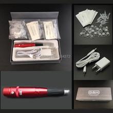 Czerwony 35000R makijaż permanentny do brwi makijaż permanentny tanie tanio Tatuaż zestawy XIMUKA SFMK002 Permanent makeup kits 20000-35000r min 110-220V 6-7V Eyebrows Lip Liner White 9 5MM Exquisite carton box