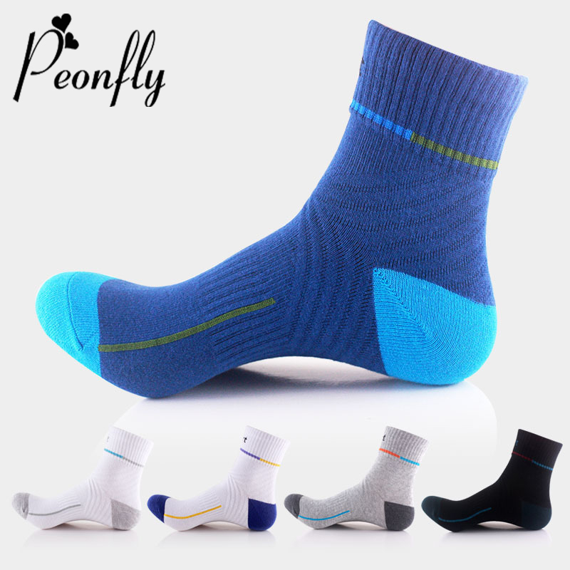 PEONFLY Male Casual Cotton Elastic Socks Color Stripe Stitching Fashion Socks Shallow Mouth Absorb Sweat Man Short Ankle Socks