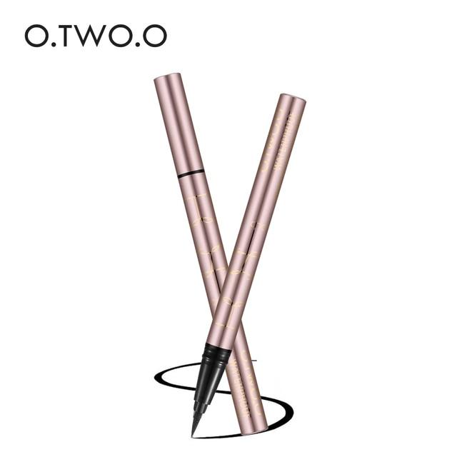 O.TWO.O Eye Makeup Liquid Eyeliner Eye Make Up Super Waterproof Long Lasting Eye Liner Easy to Wear Natural Cosmetic