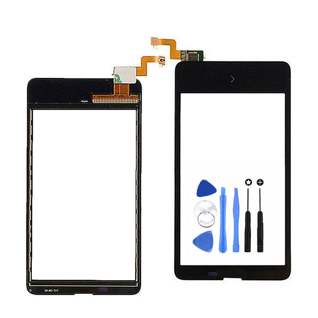 Vannego Touch Screen For Nokia X Dual SIM RM-980 4'' Glass Lens With Digitizer Replacement