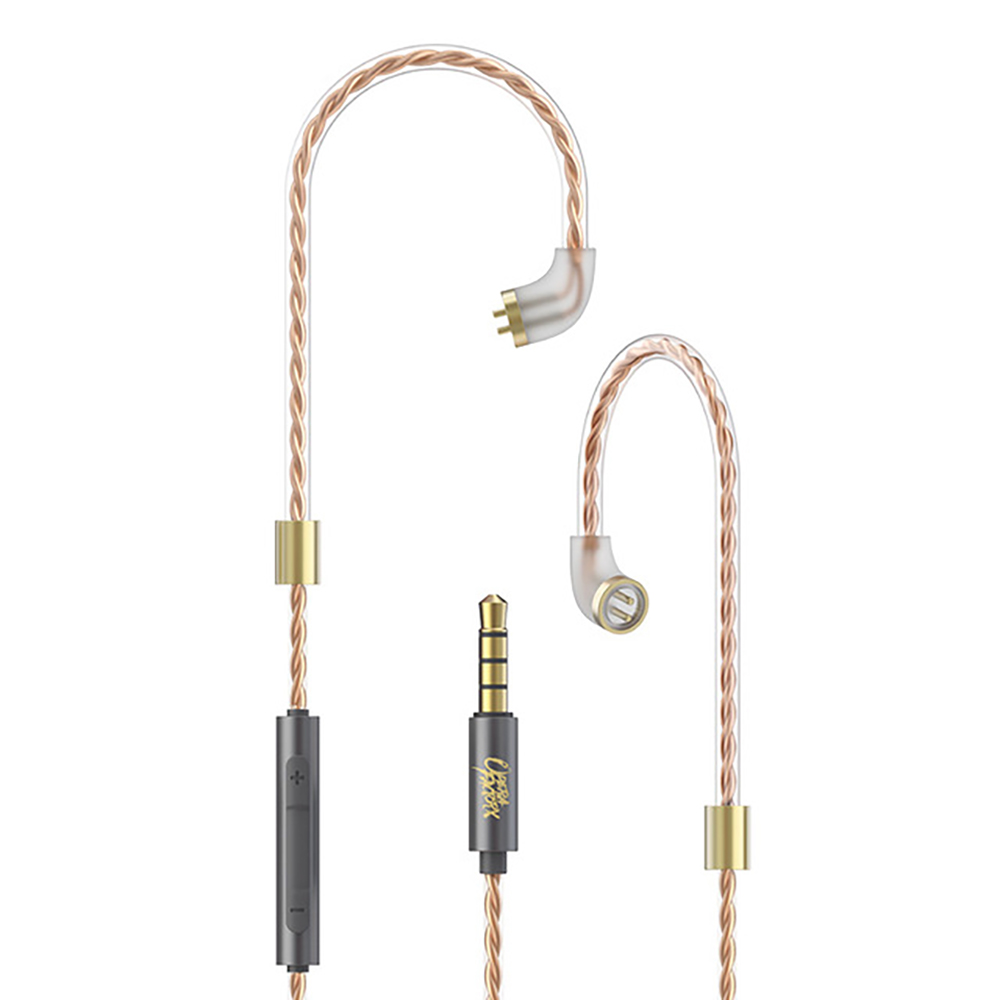 OF OM1 5N OFC Cable Dedicated 2PIN Upgrade Cable use for OM1 Whizzer HE03 with mic Cord Applies Original HeadphonesOF OM1 5N OFC Cable Dedicated 2PIN Upgrade Cable use for OM1 Whizzer HE03 with mic Cord Applies Original Headphones