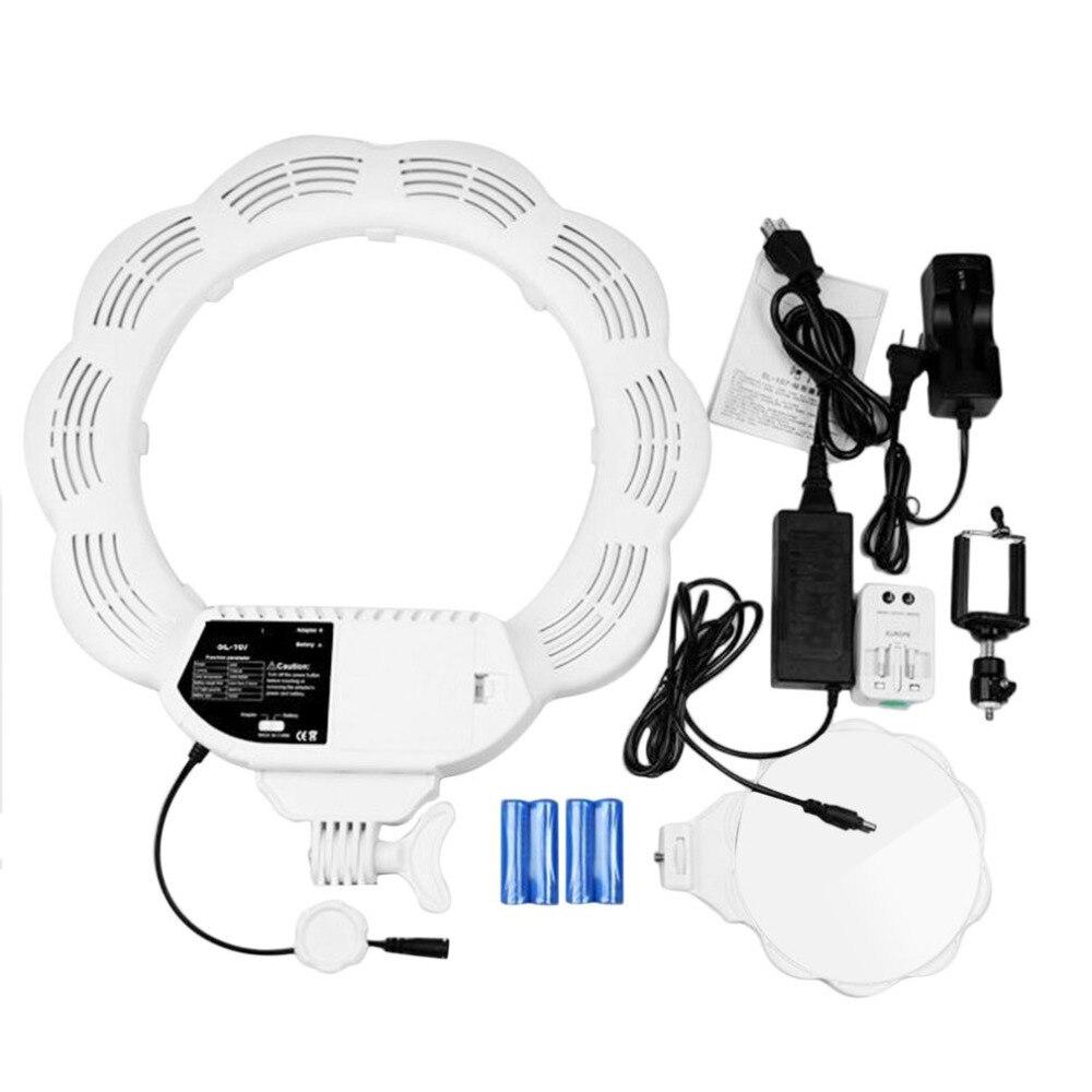 384 pièces LED très brillante Dimmable caméra anneau vidéo lumière lampe pour maquillage photographie Studio extérieur vidéo avec tête de trépied