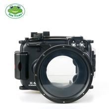 цена на For Fujifilm X-M1 Camera 16-50mm Waterproof Housing Water Case 40m Depth Rating Underwater Run Camera Functions Freely Shooting