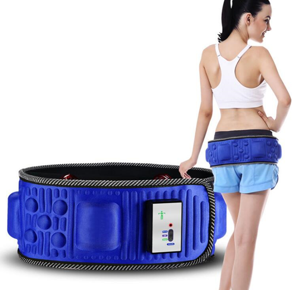 Elektrik Pelangsingan Urut Belt Pinggang Belly Slimming Massager Fat Burning Weight Loss Body Shape Massage Massage Cut Weight Devic
