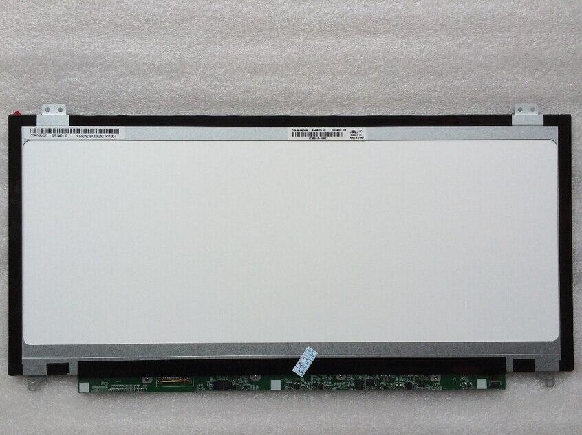ФОТО 14.4 inch  for Toshiba Satellite U840W U845W U800W LED LCD Screen N144NGE-E41 Laptop Display 1972x768 Slim Panel Free Shipping