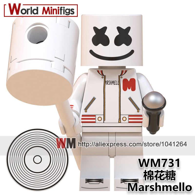 Bloques de construcción WM6064 malvaviento extraño cosas dusty Eleven Mike iluminar ladrillos modelo juguetes para niños regalos