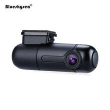 Blueskysea автомобиля WI-FI DVR B1W Мини Даш Камера поворотный объектив NT GM8135S высокого HD 1080 P dashcam Sony IMX323 автомобиля регистраторы