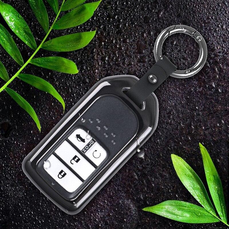 Auto fernschlüsselanhänger decken fall halter schützen für Honda 2016 2017 CRV Pilot Accord Civic Fit Befreit keyless entry auto styling