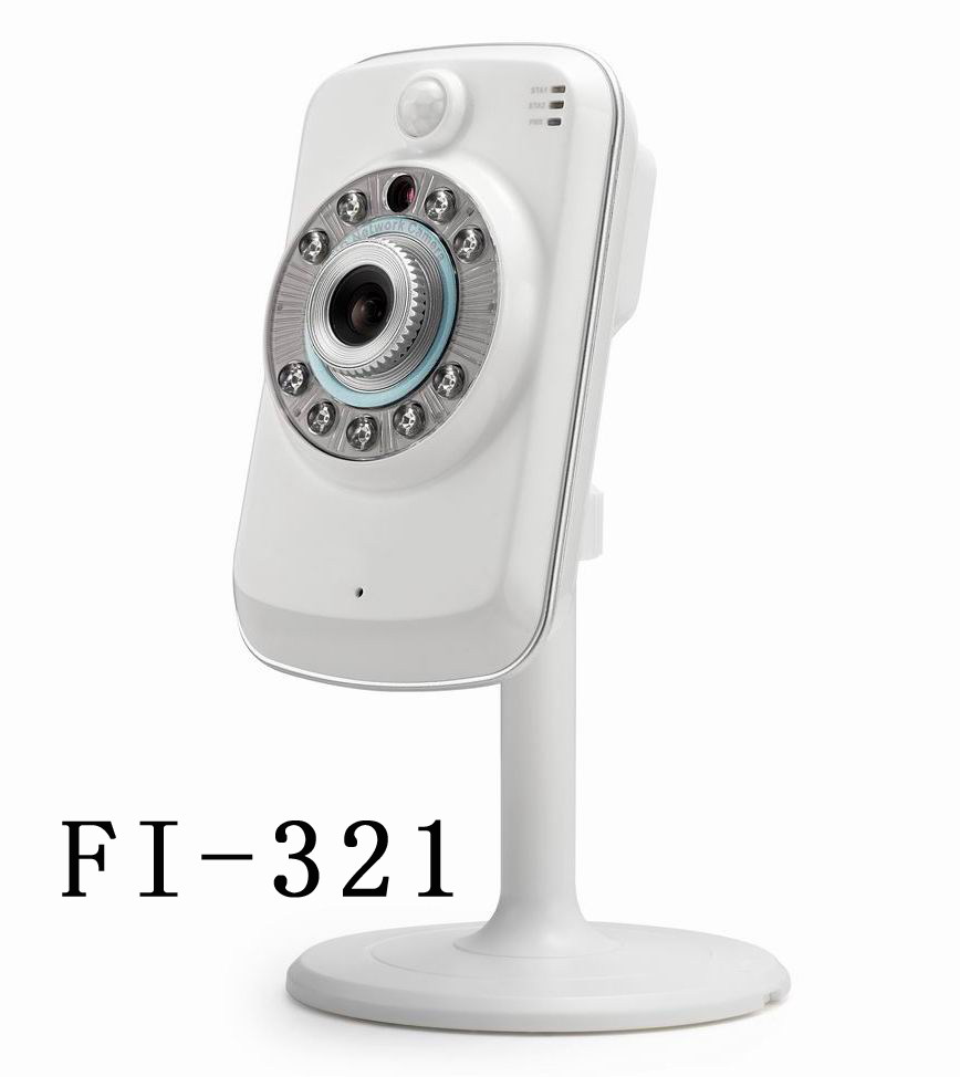 ФОТО 720p IP Wireless Security Camera FI-321 P2P Support  SD Card Recording 2 Way Audio IP Camera