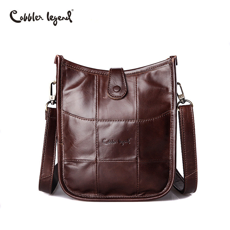 Cobbler Legend 2018 Brand Women Genuine Leather Bags Female Small Shoulder Bag High Quality Ladies Crossbody Handbag Famous