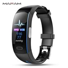 MAFAM Smart Watch ECG PPG Heart Rate Blood Pressure Bracelet Sport Bluetooth For iphone xiaomi Fitness