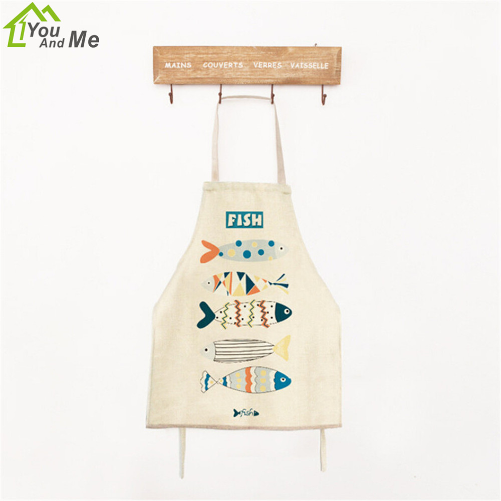 White apron pattern