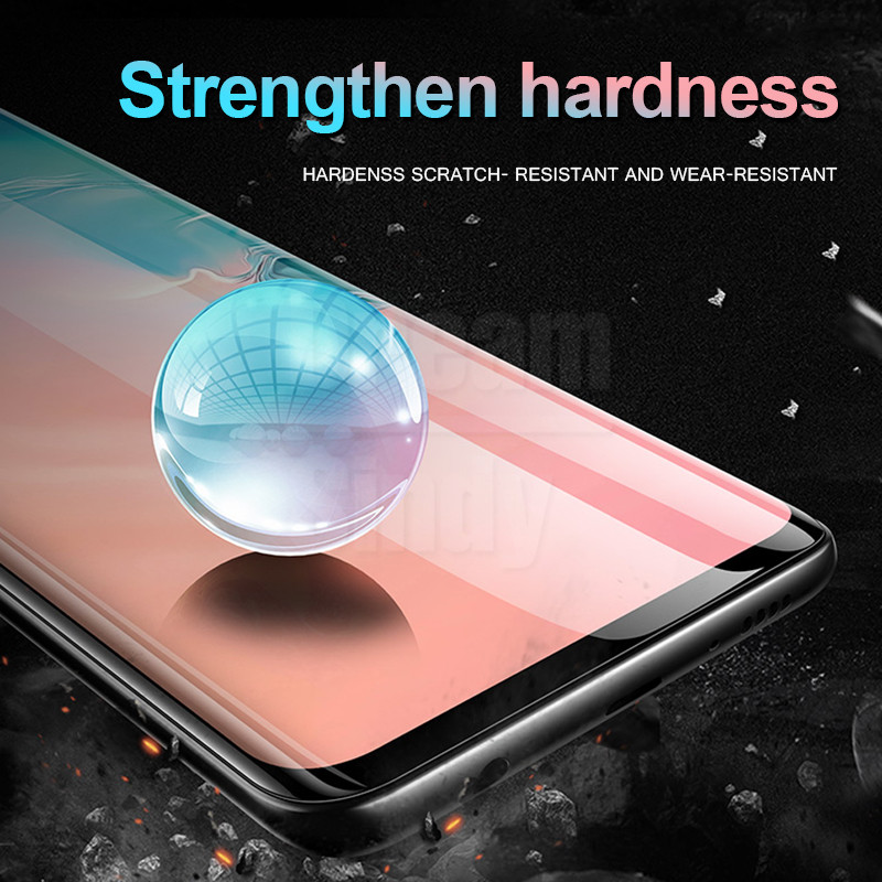 15D Full Protective Film On The For Samsung S10e S8 S9 Plus S10 E Hydrogel Film For Note 8 9 Screen Protector Film Not Glass