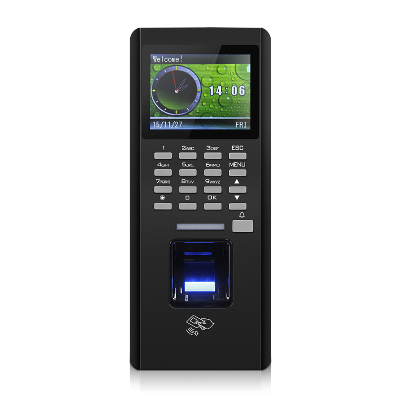Fingerprint Access Controller,TCP/ RS485 / USB download ,with ID module, finger Time Attendance,sn:F18Fingerprint Access Controller,TCP/ RS485 / USB download ,with ID module, finger Time Attendance,sn:F18