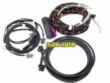 цена на Plug&play Acoustics install Wire Cable harness USE For VW Golf 7 MK7 Tiguan MK2 Dynaudio Sound System