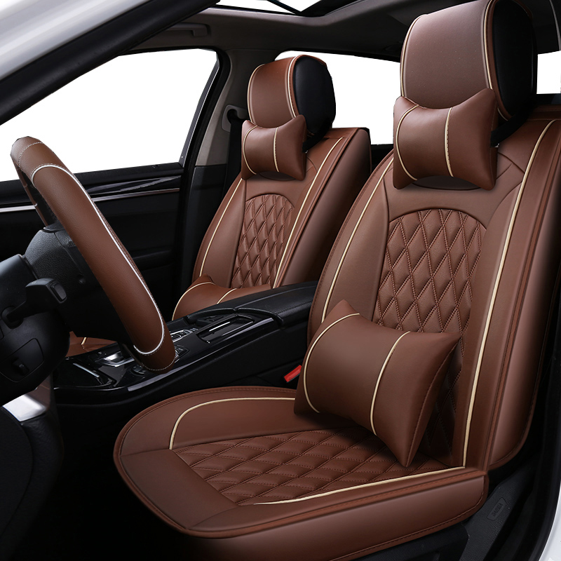 Universal PU Leather car seat covers For MG GT MG5 MG6 MG7 mg3 mgtf car accessories