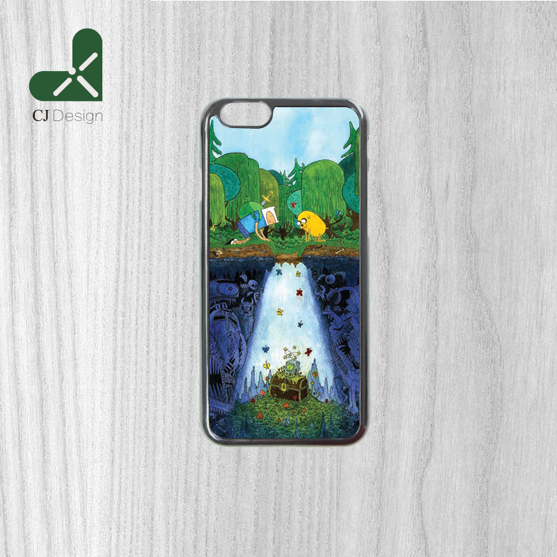 Hot Low AdventureTime Background Pattern Durable Back Phone Accessories Protection Cover for iphone 6 6s 6 6S Plus 4S 5S 5C