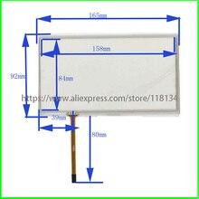 Для JVC-KW-AVX900 JVC KW AVX900 совместимый 7 дюймов 4 линии Сопротивление сенсорный экран Сенсорная панель 165 мм* 92 мм