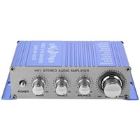 HY 2002 Hi Fi 12V Mini Auto Car Stereo Amplifier 2 Channel Audio Amplifier Support CD