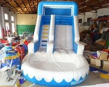Amusement park slides inflatable pool slides inflatable water slides for sale
