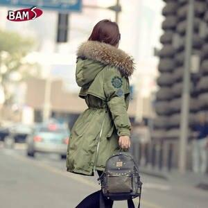 3ba258a004623 Bamskarosa Winter Jacket Women Big Coat Long Warm Winter