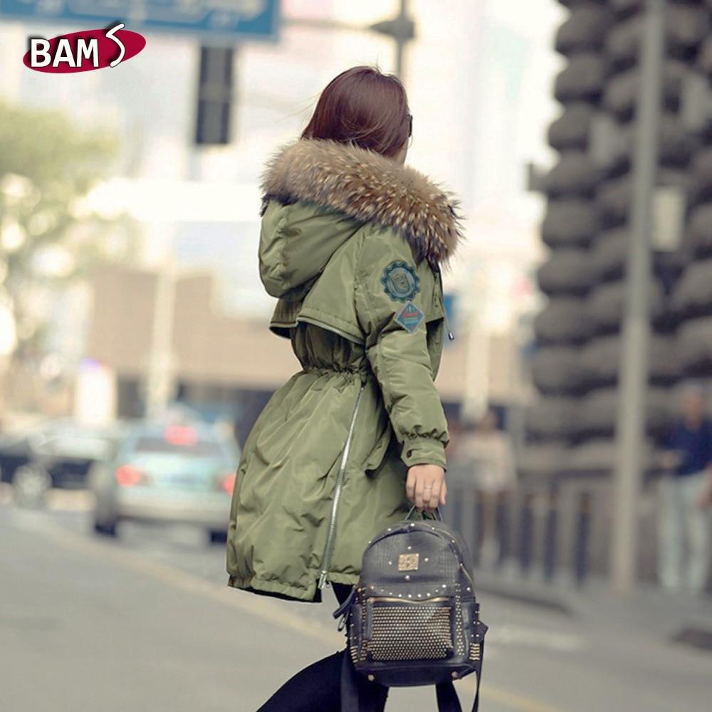 Ladies Parka With Big Fur Hood