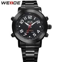 WEIDE Fashion Men's Brand Quartz-Watch Outdoor Waterproof Sport LED Light Digital Watch Men Clock Relogio Masculino / WH1105