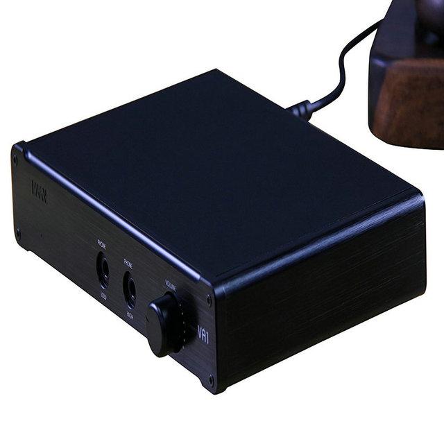 SMSL VA1-HD HI-FI Power Audio Amplifier Desktop Headphone Amplifier 110V/220V Amplifier with Balanced Input For HD650 HD600 5