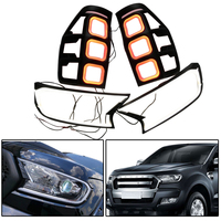 Front rear Light Cover tail lamp covers ABS lights shell FIT For RANGER T7 TXL Led headlight Cover Rear Light AUTO Accessories