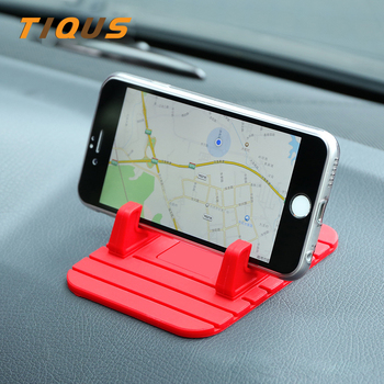 Car Phone Holder Universal Silicone Mount Mobile Smart Phone GPS Stand Bracket For iphoneX XR XS 6 6s 7 8 Plus Telephone On Desk