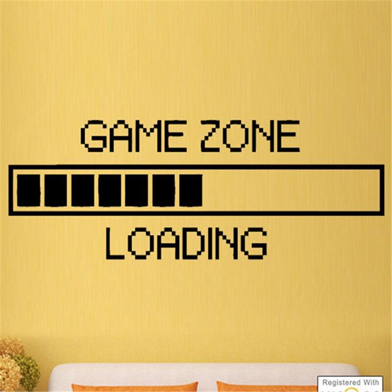 Zone, Room, Boys, Sticker, Decals, Bedroom
