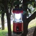 USB Rechargeable Powerful LED Camping Flashlight Handheld Solar Panel Flashlights