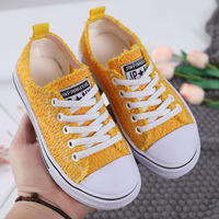 2019 Spring Autumn Kid Canvas Shoes New Fashion Baby Boys and Girls High Quality Casual Breathable Brand Shoes Children Shoes