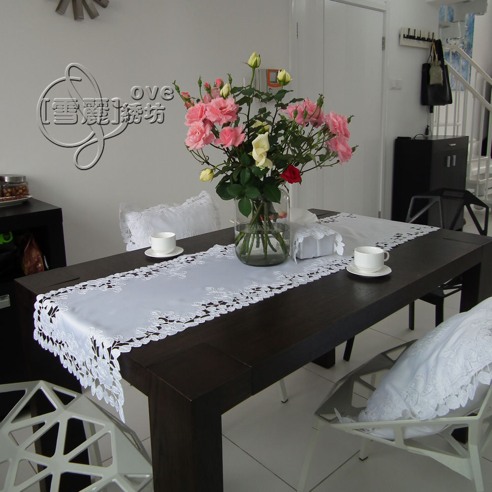 rustic cloth embroidery dining table cloth table mat. Black Bedroom Furniture Sets. Home Design Ideas