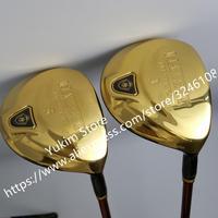 Golf Clubs Maruman majesty Prestigio 9 Golf Fairway Woods set 3/5 Graphite Golf shaft R or S flex Free shipping