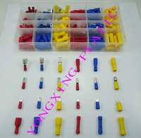 280pcs Box 24 Size Ferrule Kit Electrical Crimp Crimper Cord Wire End Insulated Terminal Block 0