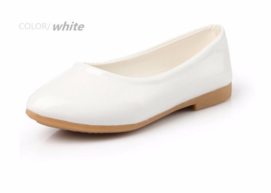 girl leather shoe-34
