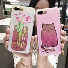 Bling Polish Liquid Phone Case iPhone 6 6s Plus 7 7 Plus 8 X
