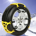 1pcs Trucks Snow Chains For Wheels Car Universal Winter Mud Tires Protection Chain Automobiles Roadway Safety Accessories Supply